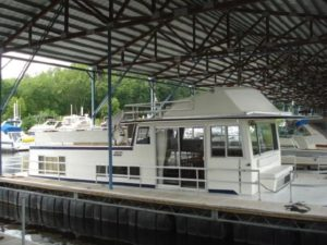 42' Gibson Rivertime Houseboat